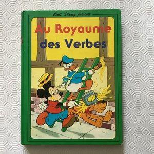 Disney Book Au Royaume Des Verbes 1976